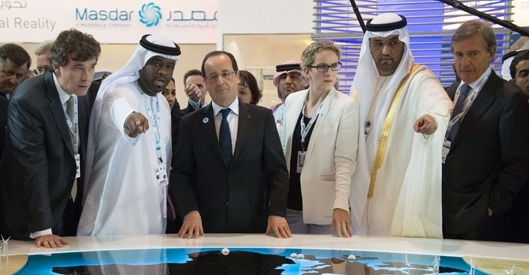 Hollande-Abu Dhabi