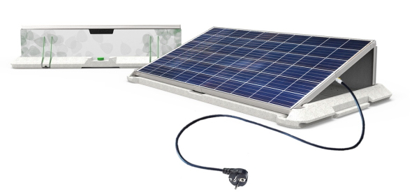 Supersola la p pite n erlandaise suivie par engie for Panneau solaire plug and play